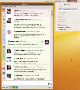 Twitter sur Ubuntu