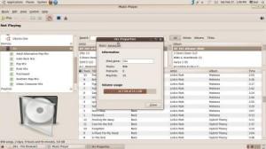 RhytmBox sur Ubuntu
