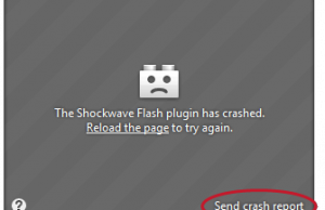 Exemple crash firefox