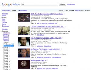 Google vidéos - Séries