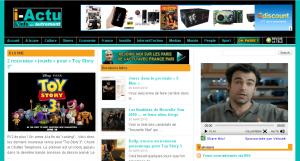 Page d'accueil i-Actu
