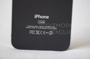 iPhone 4G - Arrière