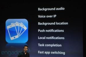 iPhone OS 4: 7 fonctionnalités