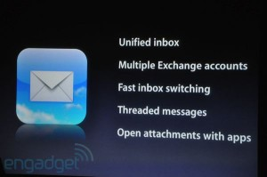 iPhone OS 4: Mail