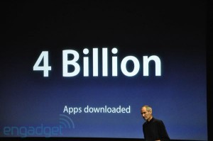 Nombre applis pour iPad