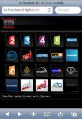 Regarder la télévision Free depuis son iPhone/iPad