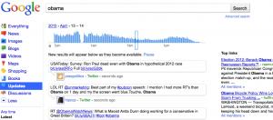 Parcourir les archives Twitter en temps réel avec Google Search