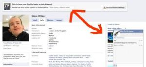 Trou de sécurité facebook