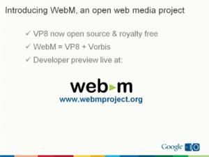 Google WebM
