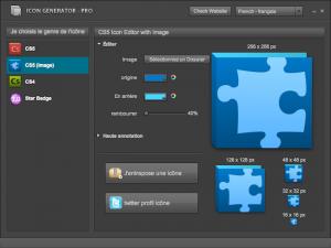 Icon générator style Adobe