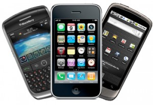 Iphone, Blackberry, Nexus One