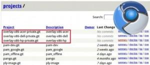 Chrome OS Partenaires
