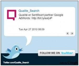 Google lance les publicités Twitter