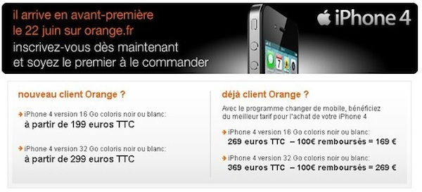 iPhone 4 Orange