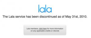 Coupure de Lala.com