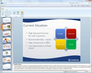 Office Web Apps - PowerPoint
