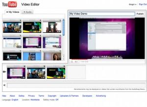 Youtube - Editeur de vidéos