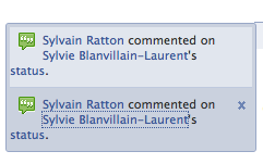 Notification Facebook