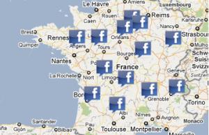 Géocalisation sur Facebook