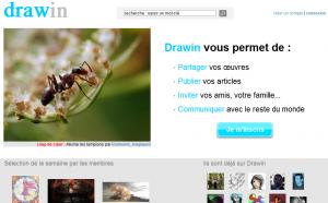 Drawin - Accueil