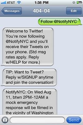 Suivre une personne via des SMS