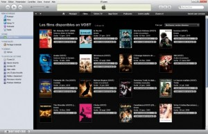 Itunes propose des films VOST