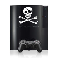 PS3 de Sony piratée