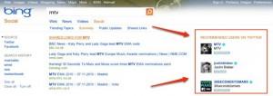 Bing va recommander des utilisateurs Twitter