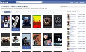 Facebook: Trouvez de nouvelles pages à Liker