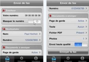 Envoyer des fax depuis votre équipement Apple