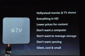keynote: Apple tv besoins