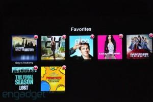 Keynote: Apple TV exemple nouveauté série