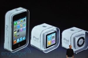 Keynote: Nouvelle gamme iPod au complet