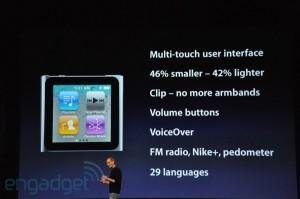 keynote: ipod nano