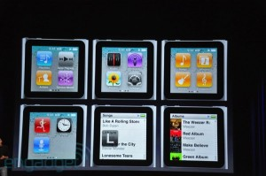 keynote: ipod nano fonctionnalités