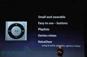 keynote: ipod shuffle