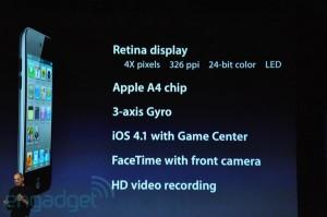 Keynote: iPod Touch fonctionnalités