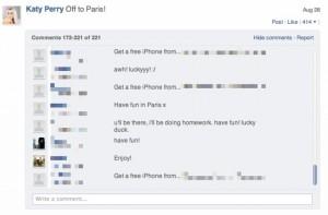 Du Spam sur Ping