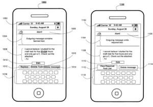 Brevet censure termes SMS