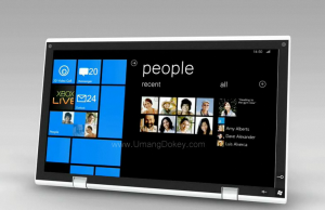 Concept tablette tactile Windows Phone 7