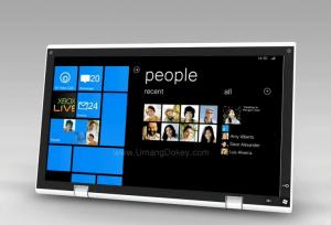 Concept tablette tactile Windows Phone 7
