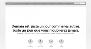 Un teasing Apple pour un iTunes streaming?