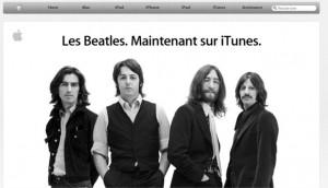 Les beatles arrivent sur iTunes