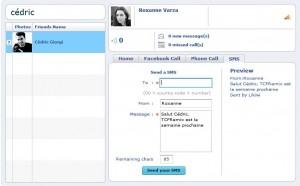 Likiwi pour envoyer des SMS via Facebook