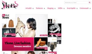 Ykone, réseau social sur la mode