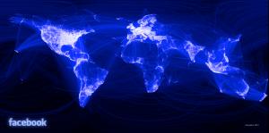Graphique des connexions Facebook
