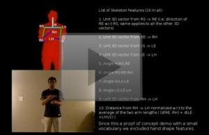 La Kinect au service de la langue des signes
