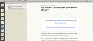 Screenshot RSS Reader