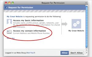 Facebook partage de plus en plus vos données personnelles