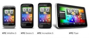 HTC Gamme complète